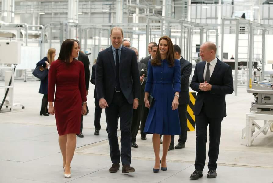 Kate Middleton et le prince William plus souriants que jamais