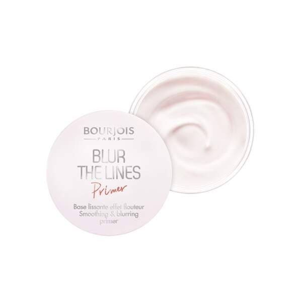 Floutez pores et ridules avec Blur the Lines Primer de Bourjois (12,90€)