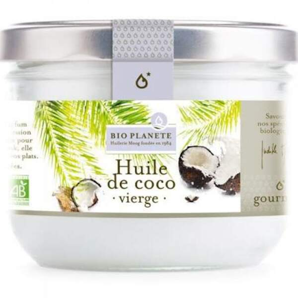 Huile de coco vierge bio, Bio Planète, 4,99€