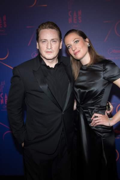 Benoît Magimel et Margot Pelletier