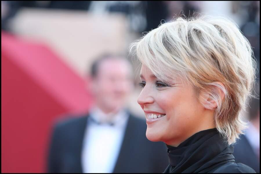 Une coupe courte pour Virginie Efira à Cannes en 2009