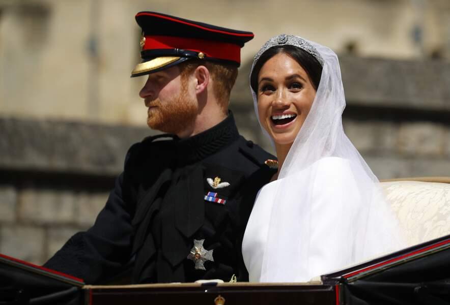Meghan Markle et le prince Harry : La duchesse s'émerveille...