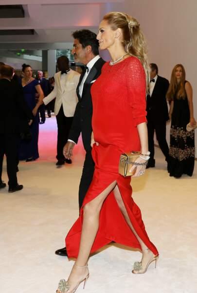 L'ex-top model toujours aussi sublime à 46 ans.