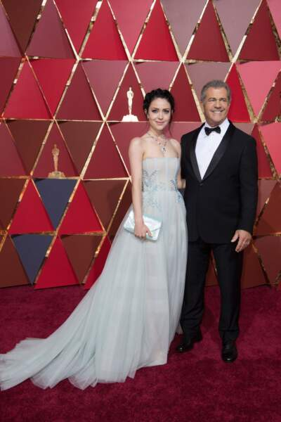Mel Gibson avec sa compagne Rosalind Ross