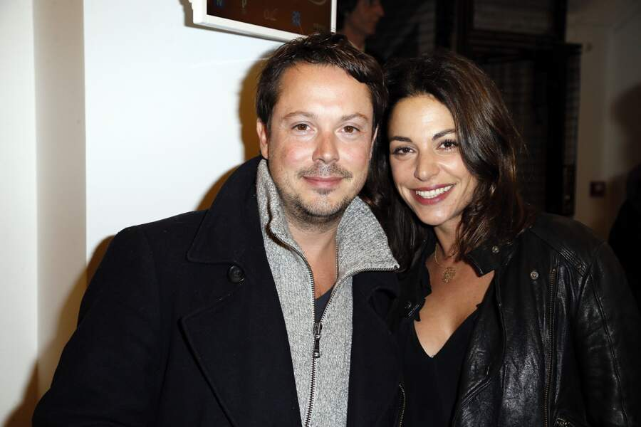 Davy Sardou et son épouse Noémie Elbaz