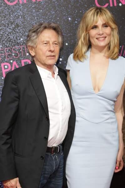 Emmanuelle Seigner et Roman Polanski (2013)