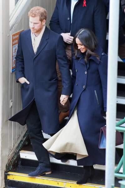 Le prince Harry et Meghan Markle sont ensemble depuis un peu plus d'un an