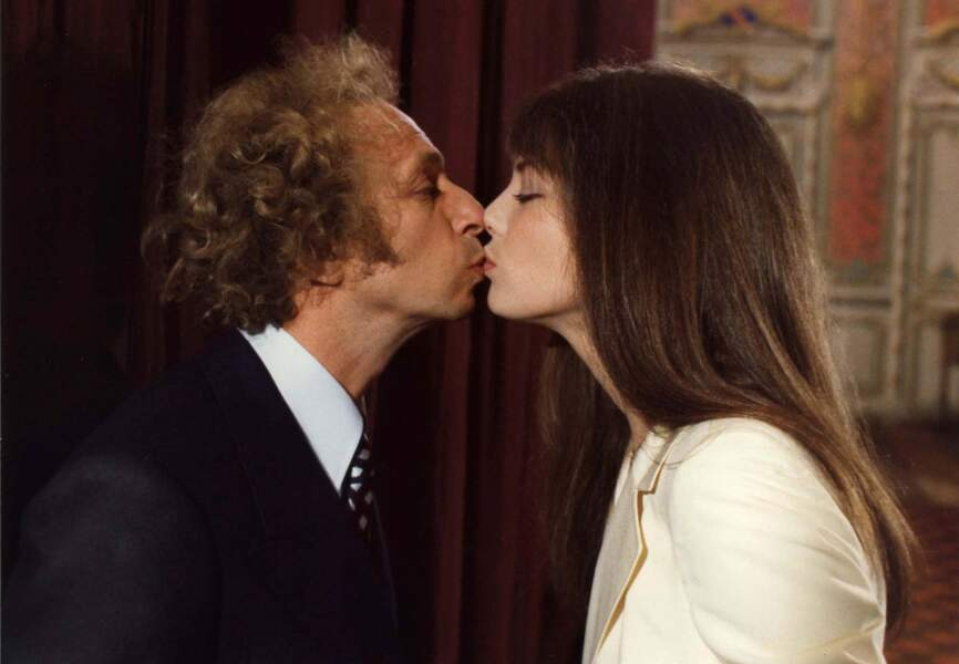 """La moutarde me monte au nez,"" avec Jane Birkin, 1974"