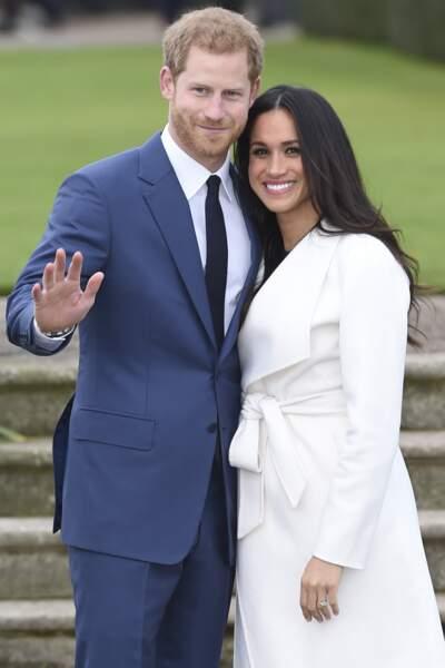 Le Prince Harry et Meghan Markle fiancés à Kensington palace : ils annoncent leur mariage au printemps 2018