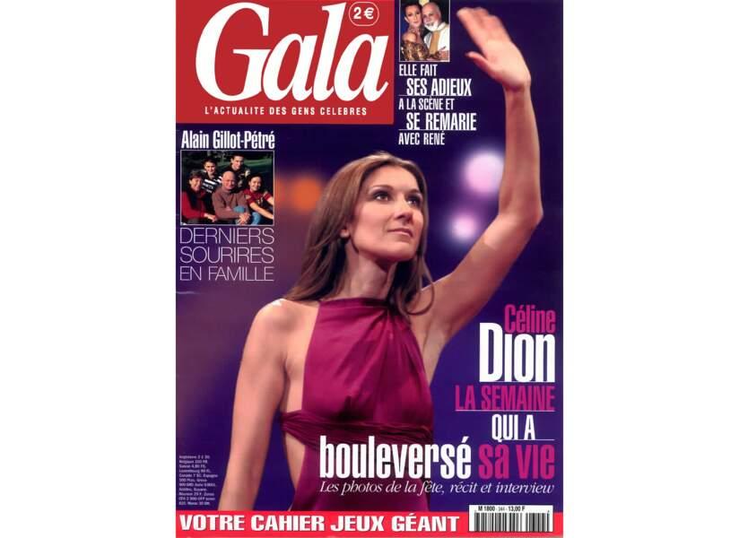 Céline Dion la semaine qui a bouleversé sa vie