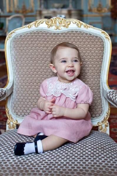 Le 20 février, la petite fille de Madeleine de Suède, Princesse Leonore a fêté son premier anniversaire