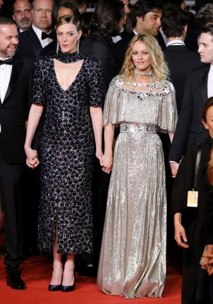 Le 17 mai, Vanessa Paradis montait les marches de Cannes en robe scintillante Chanel
