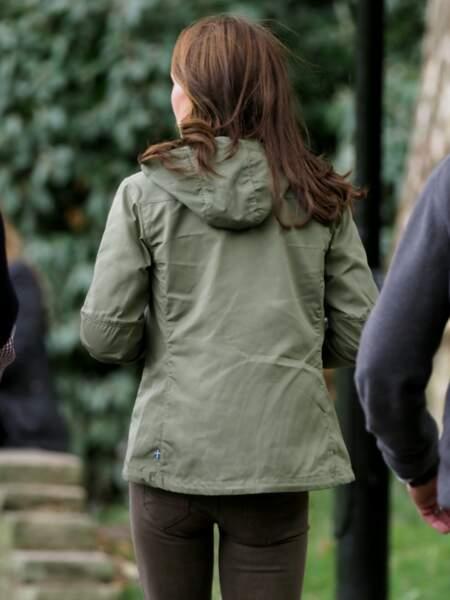 Kate Middleton recycle aussi sa parka suédoise
