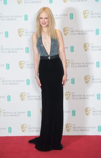 Nicole Kidman, blonde et les cheveux ultra raides