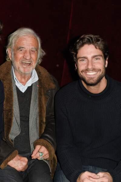 Jean-Paul Belmondo et Tom Leeb