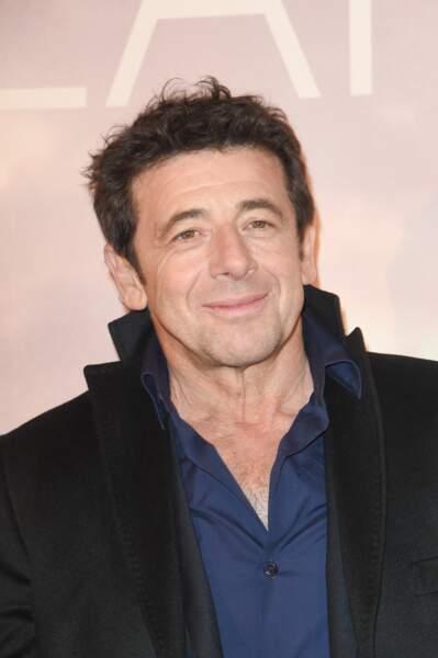 Patrick Bruel assistait à l'avant-première du film Holy Lands au UGC Normandie à Paris ce 4 décembre