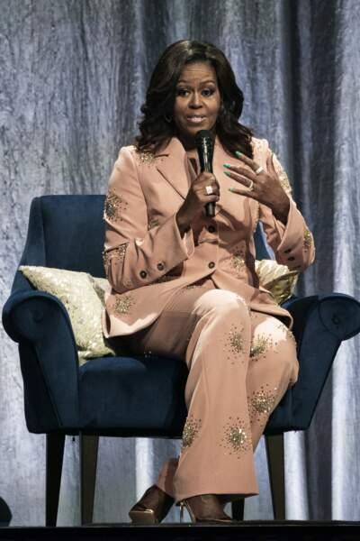 Michelle Obama était à Copenhague le 9 avril pour promouvoir son autobiographie Devenir.