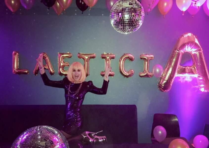 La reine de la soirée disco