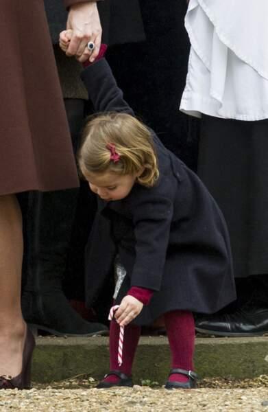 La princesse Charlotte n'en fait qu'à sa tête