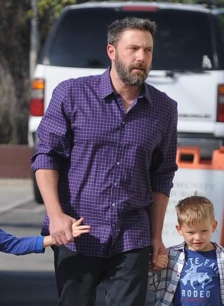 Ben Affleck proche de son garçon