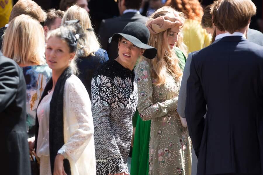 Charlotte Casiraghi et Beatrice Borromeo au mariage du prince Ernst August Jr de Hanovre