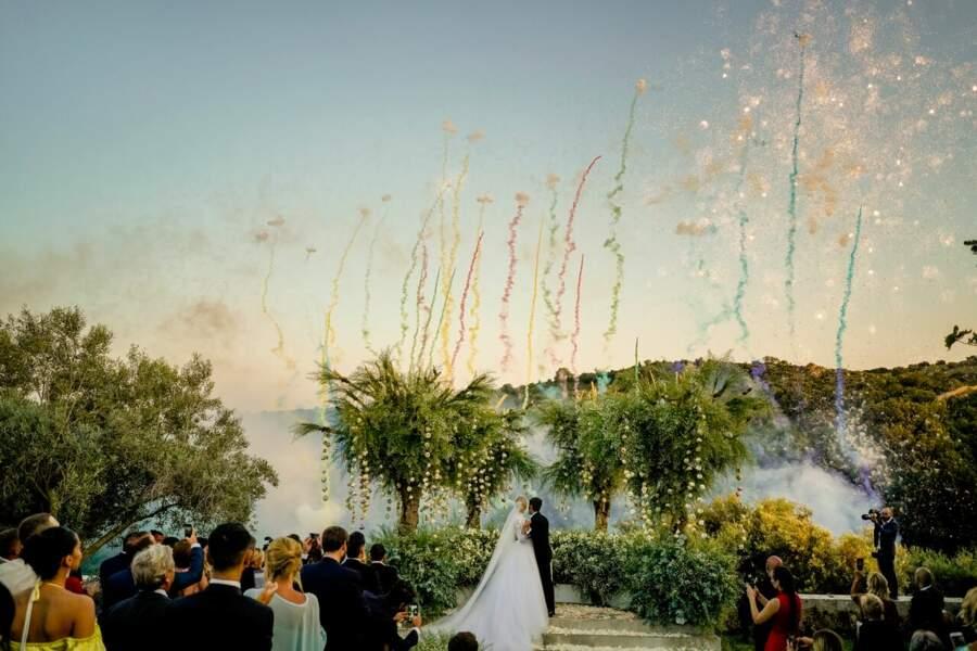 le mariage de Chiara Ferragni et Fedez, féérique
