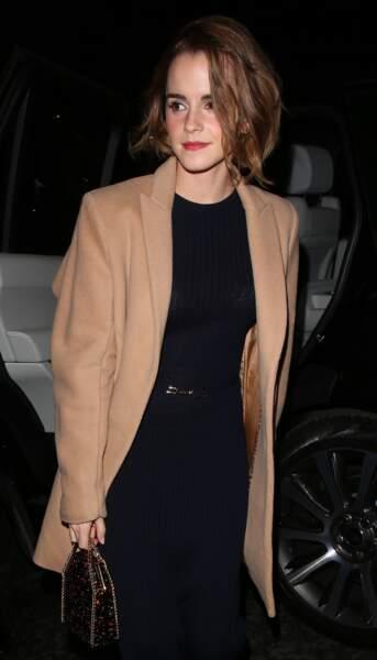 Look de working girl pur Emma Watson en 2015, l'année de ses 25 ans.