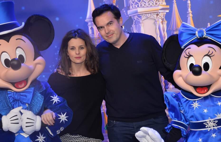 Faustine Bollaert et l'écrivain Maxime Chattam sont mariés depuis 2012