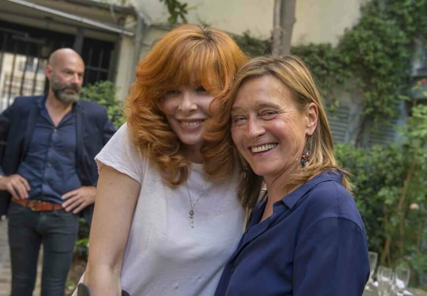 Mylène Farmer et Sylvie Lancrenon