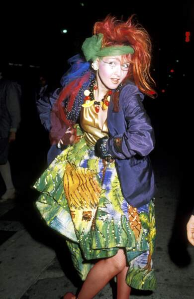 Cyndi Lauper aux Grammy Awards en 1984