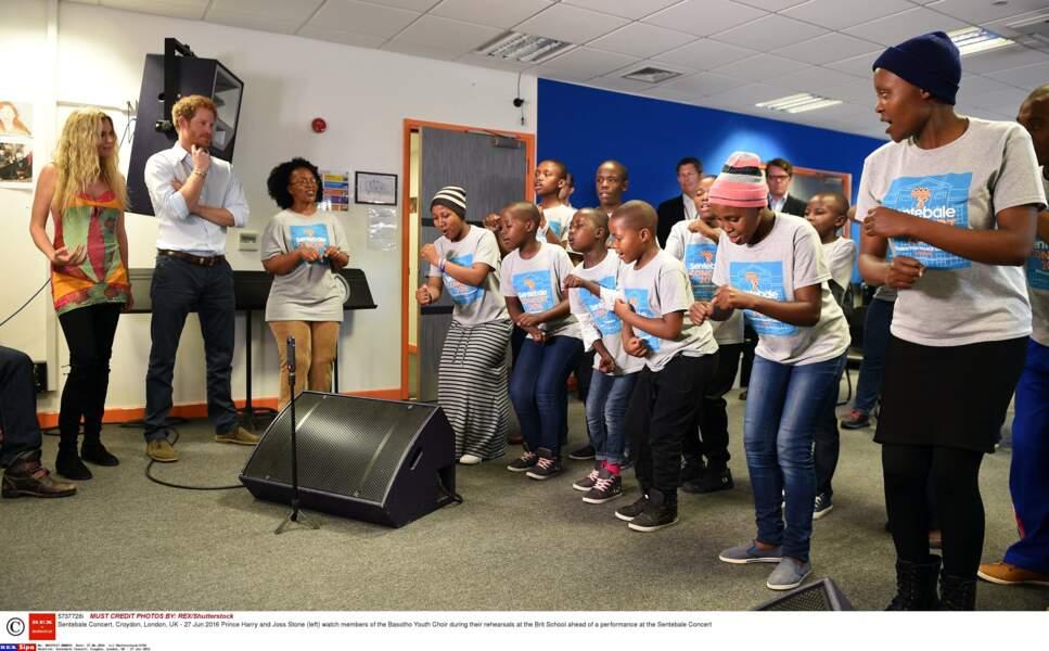 Demonstration du Basotho Youth Choir