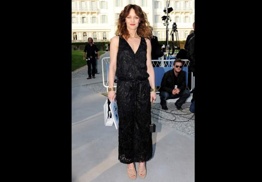 Robe longue couture pour la muse Chanel