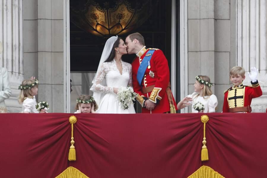 Mariage de Kate Middleton et du prince William d'Angleterre à Londres, le 29 avril 2011