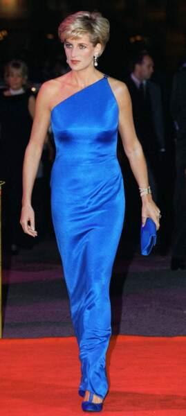 Diana sublime en bleu électrique satiné à Sydney