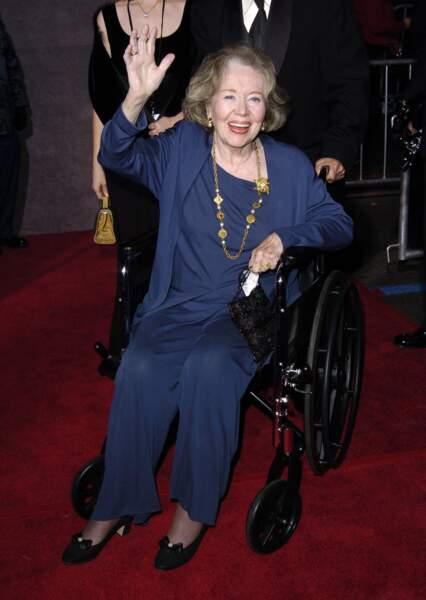 Glynis Johns lors de la soirée du 40e anniversaire de Mary Poppins à Hollywood en 2004