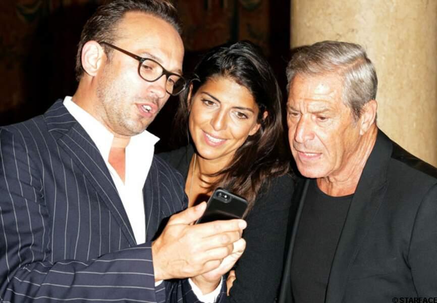 Vincent Perez, Hoda Roche et Jean-Claude Darmon
