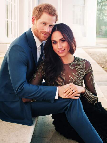 C'est là-bas que les époux de Sussex avaient déjà pris la pose pour les photos officielles de leurs fiançailles
