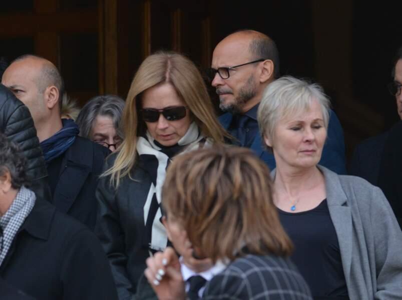Lara Fabian très éprouvée aux obsèques de Maurane