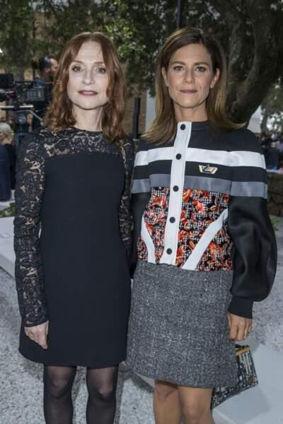 Isabelle Huppert et Marina Foïs