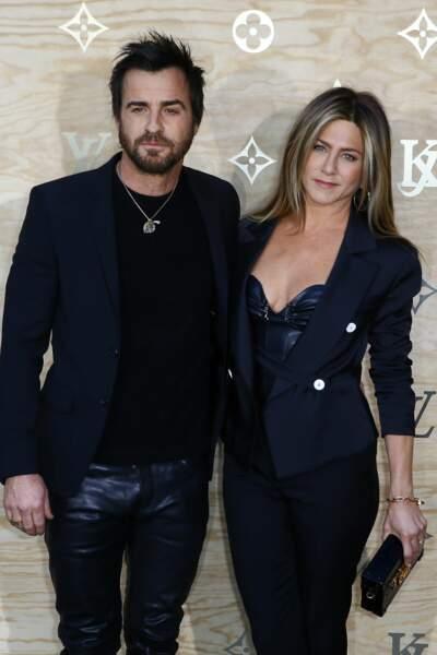 Le couple était présent lors du dîner de présentation de la nouvelle collection Vuitton
