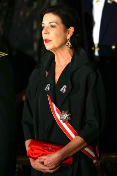 La princesse Caroline de Monaco.