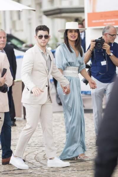 Après leur séance photo, Nick Jonas et Priyanka Chopra s'en vont faire un tour sur la Croisette