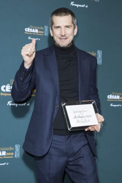 Guillaume Canet nommé pour le César du meilleur acteur avec Rock'n Roll