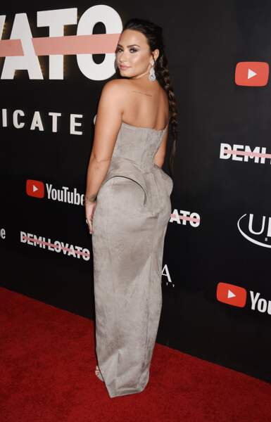 La tresse longue de Demi Lovato