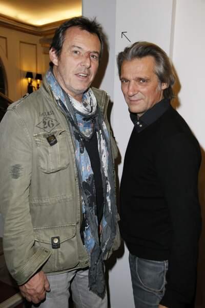 Jean-Luc Reichmann et Yvan Le Bolloc'h