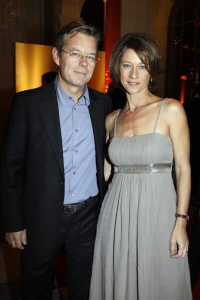 Carole Gaessler et son mari Franck