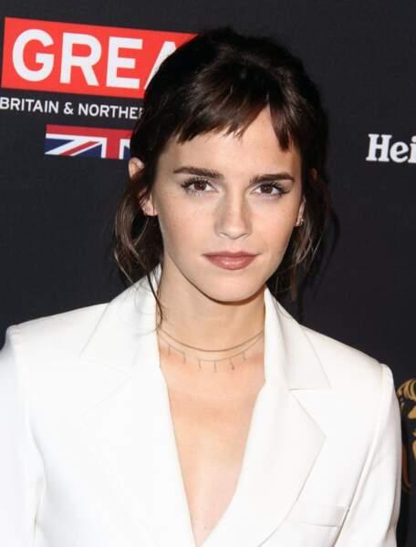 La frange asymétrique d'Emma Watson