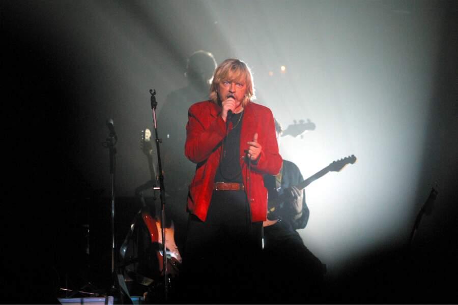 En décembre 2002, sur la scène du Zénith de Paris