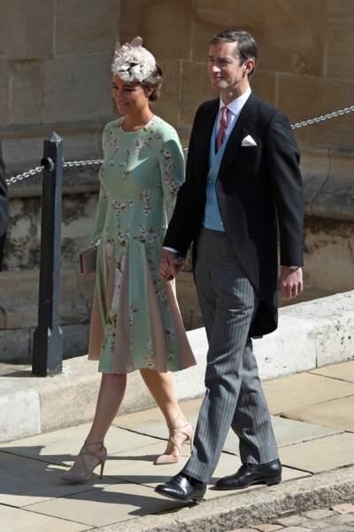 Pippa Middleton en route pour la chapelle