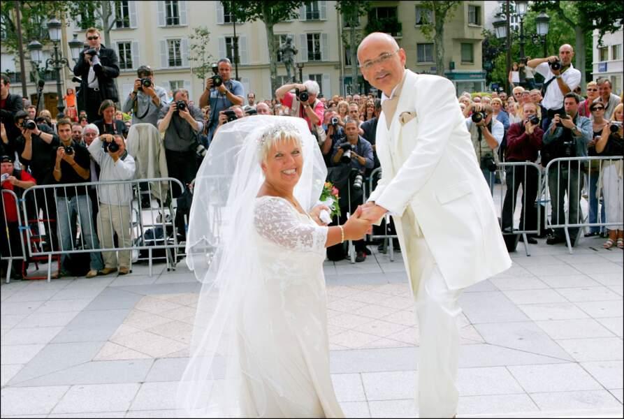 Mariage de Mimie Mathy et de Benoist Gerard